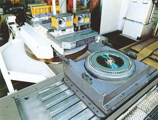 立体交换式工作台