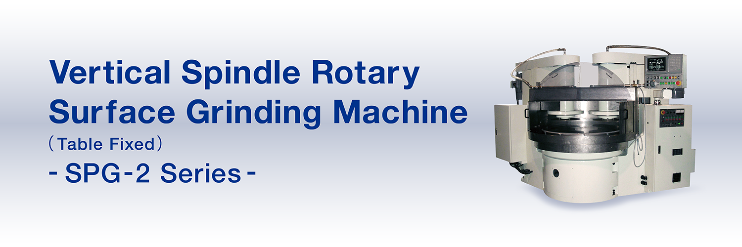 Vertical Spindle Rotary Surface Grinding Machine(Table Fixed